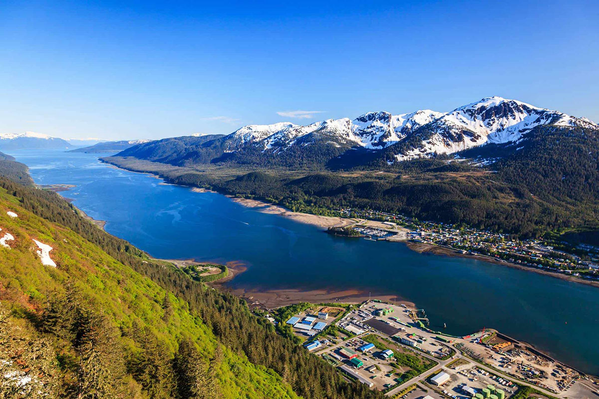 actual view from mount roberts juneau alaska - the perfect summer vacation destination