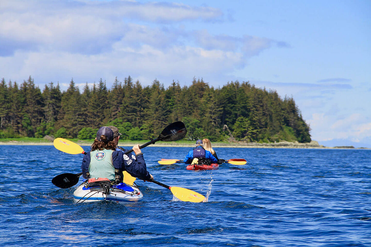 Things to do in Juneau Alaska: Kayaking Close to Nature